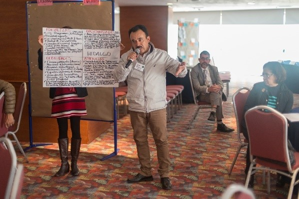 Hidalgo analyzes opportunities to contribute to the NDC