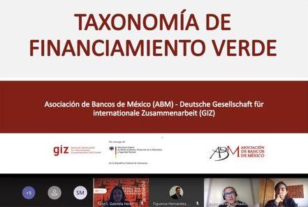 """Presentación """"Taxonomía de Financiamiento Verde"""" al MINAM de Perú."""